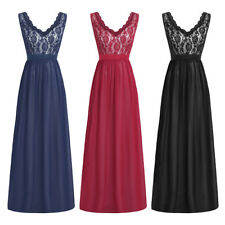 New Chiffon Woman's Bridesmaid Formal Evening Prom Gown Party Dress Size 4-16