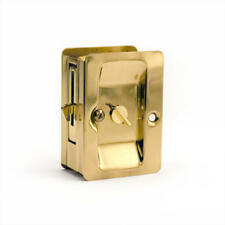 Signature Hardware Solid Brass Deluxe Pocket Door Pull