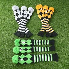 NEW Hand Knitted Golf Club Headcover 3 Pcs/Set for Taylormade Driver 1/3/5 Wood