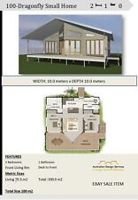 House Plan For Kit Home - Small Home Design 2 Bedroom + Study Nook : Sale Item