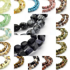 "15.7"" Strd Precious Natural Nugget Gemstone Beads Loose Tiny Sontes Craft 5~7mm"