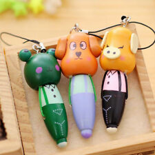 Stationery Animal Pendant Ballpoint Pens Writing Supplies Cartoon School 1 Pcs