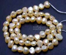 "SALE Small 5-6mm Natural Pink BAROQUE Freshwater Pearl Loose Beads 14""-los619"