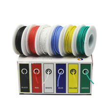30/28/26/24/22/20/18awg 6 colors Flexible Silicone Wire Tinned Copper line