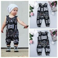 Newborn Infant Boys Star Wars Romper Sleeveless Jumpsuit Bodysuit Baby Outfits