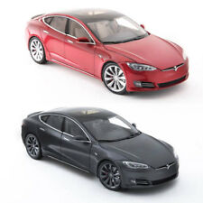 New Tesla Diecast 1:18 Scale Model S P100D Toy Display Car Mint Vintage Decor