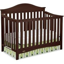 Graco Harbor Lights 4 in 1 Convertible Crib Espresso
