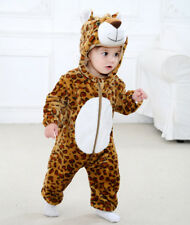Sweet Cute Toddler Newborn Baby Boys Girls Cartoon Hooded Romper Outfits Clothes