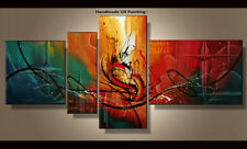Framed Large Wall Art Handmade Canvas Modern Abstract Oil Painting Decor Abs184