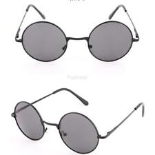 Women Fashion Retro Round Mirror Lens Sunglasses Metal Frame Sun Glasses FTMK
