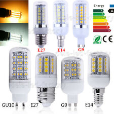 E27 E14 G9 B22 5730 LED SMD Corn Light Spotlight Lamp Bulb 220V 3W 6W 9W 12W 15W