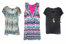 AB Studio Tunic Tops Cap Sleeve & Short Sleeve Tops NWT$40-$60 Sizes S-L