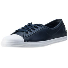 Lacoste Ziane Bl 1 Womens Trainers Navy New Shoes