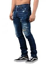 DSQUARED2 Jeans - Mens S74LB0236 Distressed Cool Guy jeans In Blue