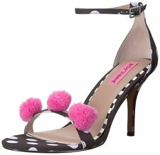 Betsey Johnson Womens Lylly Open Toe Ankle Strap D-orsay Pumps