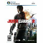 Just Cause 2 PC Brand New Factory Sealed Fast Shipping