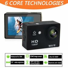 1080P HD Sports Camera WIFI Mini DV Carry Case Bundle Action Camcorder XB