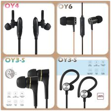 Wired Bluetooth 4.0 Earphone Stereo Headset Hands-free Sports Earbuds Lot LS