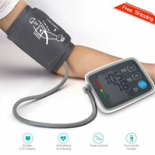Fully Automatic Digital Upper Arm Blood Pressure Monitor Pulse Rate Testing UL