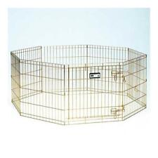 "Midwest 36"" Gold Zinc Exercise Pen with Door"