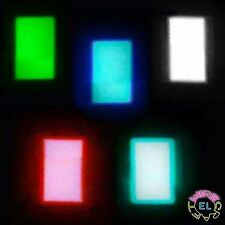 EL Panel - 5cm X 8cm = £6 each - Electroluminescent paper foil backlight sheet