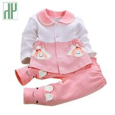 Newborn clothes spring autumn baby clothes set cotton Kids  Long Sleeve 2Pcs bab