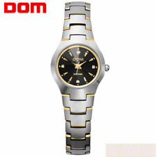 DOM New Sapphire Mirror Women's tungsten steel watch