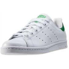 adidas Stan Smith Womens Trainers White Green New Shoes