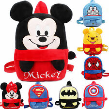 Cute Baby Toddler Child Kids Cartoon Soft Plush BookBags Backpack School Bag