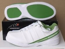 GREENMASTER Lawn Bowls Australia Approved Shoes Mens Leather  UK / AUZ Sizing