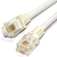 ADSL2+ High Speed Broadband Modem Internet Router Phone Line Cable RJ11 to RJ11