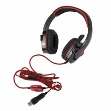 USB Surround Sound Over Ear Pro Gaming Headset W/ Mic Microphone For SADES SA901