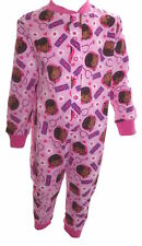 Doc McStuffins Pale Pink Girl's All in One Sleepsuit Age 18 Months - 5 Years