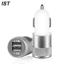 Car Charger IST Universal Mini Dual USB Charger For iPhone 6s 6 Plus 5 5s 7 Car