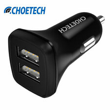 Universal USB Car Charger,2.4A*2 Dual Port Intelligent Car-charger Adapter for