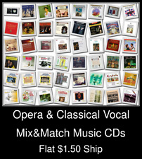 Opera & Classical Vocal(1) - Mix&Match Music CDs U Pick *NO CASE DISC ONLY*