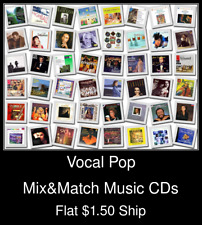Vocal Pop(1) - Mix&Match Music CDs U Pick *NO CASE DISC ONLY*