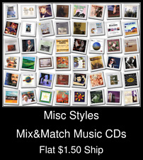 Misc Styles(1) - Mix&Match Music CDs U Pick *NO CASE DISC ONLY*
