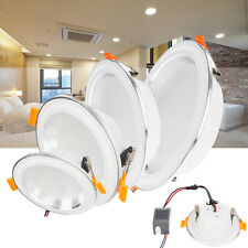 Recessed LED Ceiling Light Fixture Downlight Bulb 3W 7W 12W 15W Lamps AC 85-265V