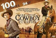 100 Greatest Cowboy Classics (DVD, 2013, 24-Disc Set)