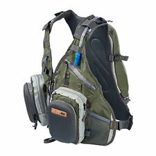 Anglatech Fly Fishing Backpack Vest Combo Chest Pack for Tackle Gear and