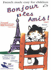 French Made Easy for Children: Bonjour les Amis!, Vol 2 FREE SHIPPING