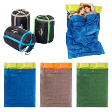 23F/-5C Thermal Outdoor Camping Sleeping Bag Single Double Envelope Mat Hiking T