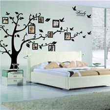 Removable 200*250cm Wall Stickers Photo Frame Family Tree Decor Decal Mural AU
