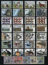 1979 Great Britain Commemorative Stamp Sets Issues Choose Pick Separately MNH