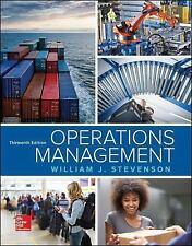 13e Operations Management 13th Edition by Stevenson 978-125966743 (PDF)