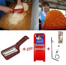 Cabbage Slicer Shredder Sauerkraut Cutter grater + CARROT GRATER +gift