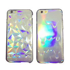 Holographic 3D Melted Diamond Cover Case for iPhone8 8Plus 5 6 6s 6Plus 7 7P WL