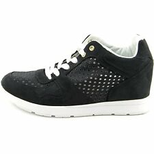 GUESS Womens Laceyy Wedge Joggers Low Top Lace Up Fashion Sneakers