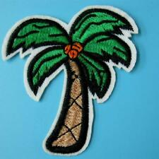 Tree Palm Beach Holiday Sew Iron on Patch Embroidered Applique Trip Motif Cute